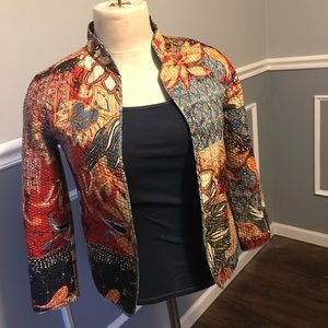 Alfred Dunner Reversible Quilted Jacket